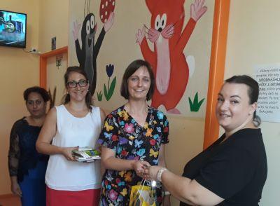 Dobrovoľníci podporili detské oddelenie v levickej nemocnici
