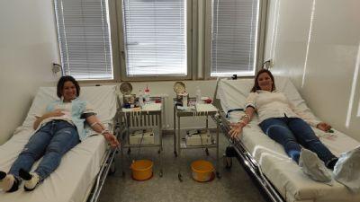 Darcovia krvi v rámci Valentínskej krvi pomáhali aj v levickej nemocnici