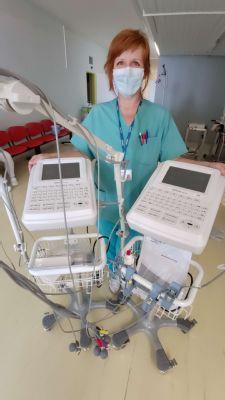 Nemocnica Levice má dva nové EKG prístroje