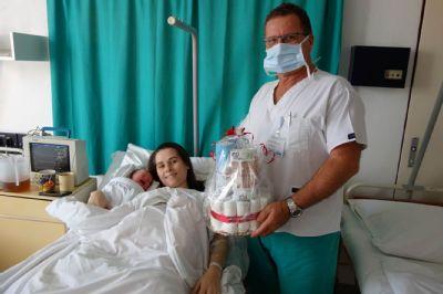 Levická nemocnica privítala už svoje tisíce narodené bábätko v tomto roku